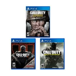 PlayStation 4 Call of Duty Game Bundle