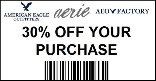 American Eagle Coupon Printable