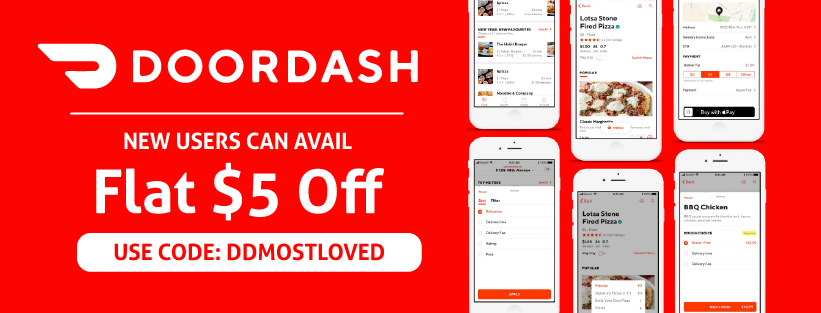 Doordash Promo Code 5 Off October Edition Save 5 On Orders With Free Delivery