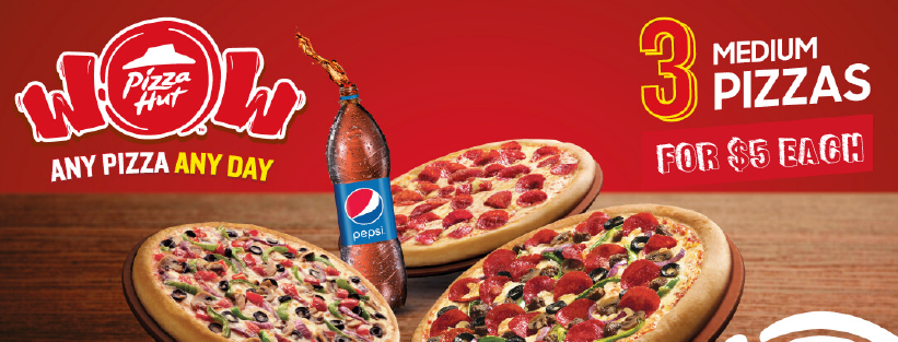 Pizza Hut Coupons For Carry Out Medium Pizza For 5