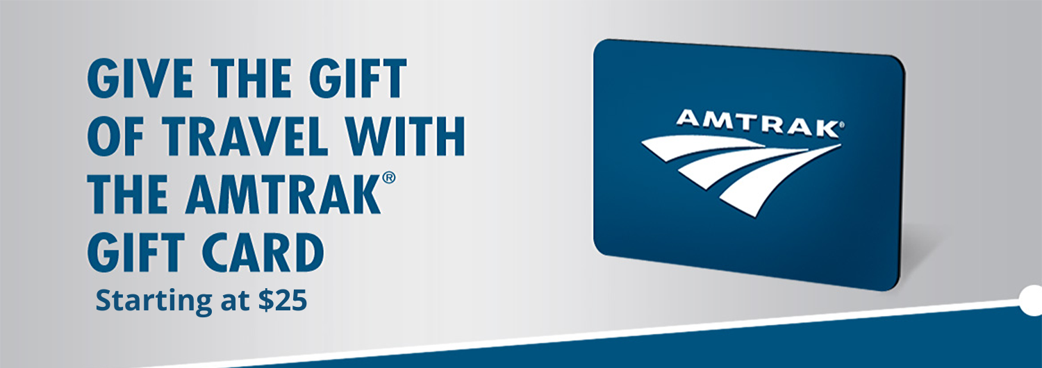 amtrack gift card
