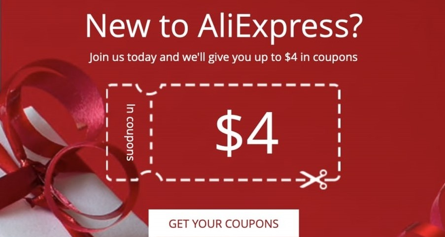 New to Aliexpress Coupon