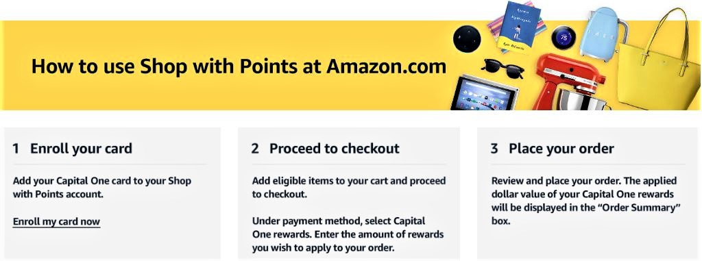 How to shop with points