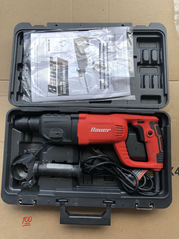 SDS Variable Speed Pro Rotary Hammer Kit