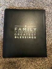 Family Blessings Post Bound Scrapbook Album