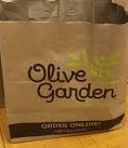 Chicken Alfredo by Olive garden
