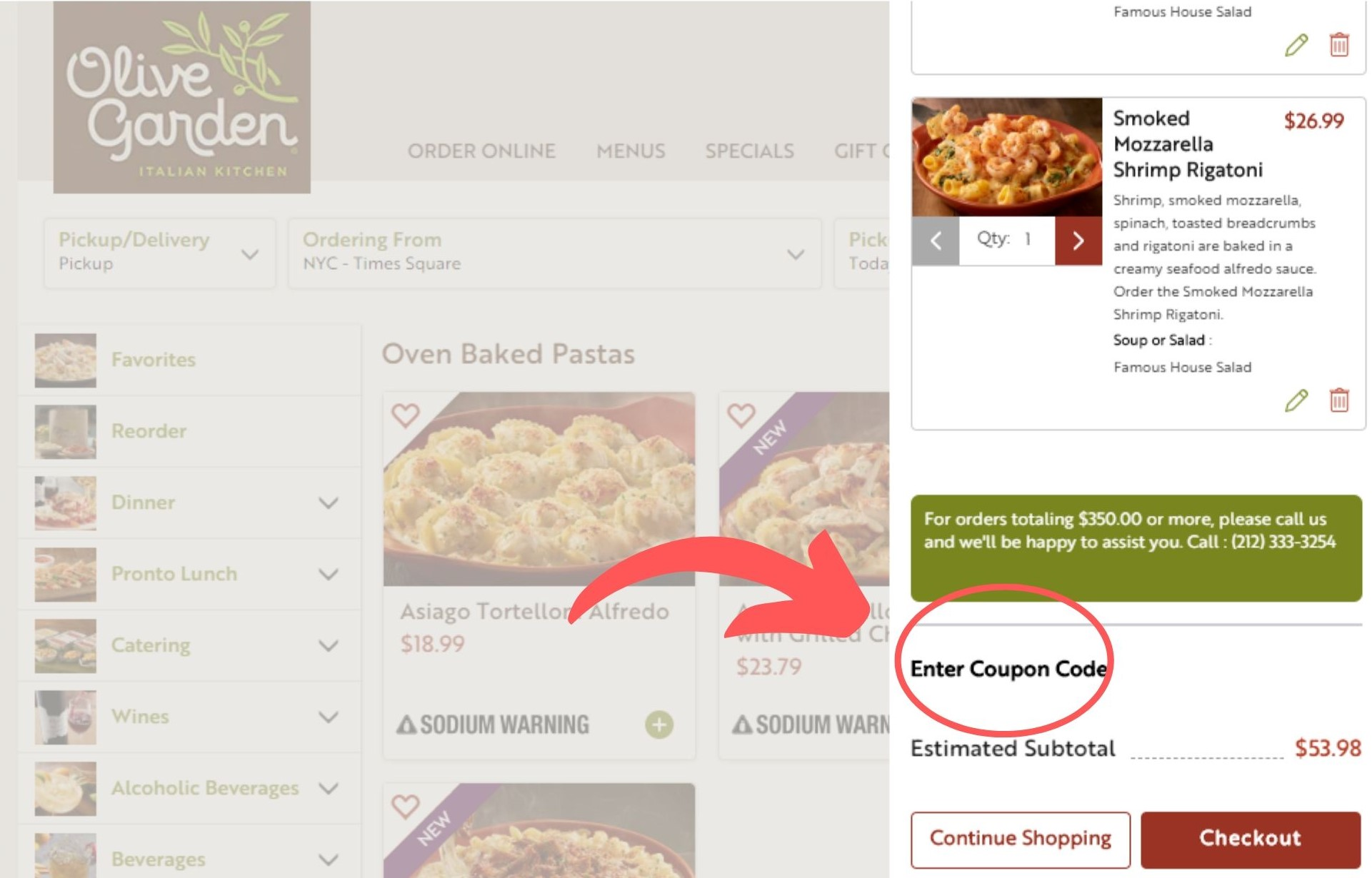 Olive Garden Coupons Coupon Code Promo Codes 20 Off May 2020
