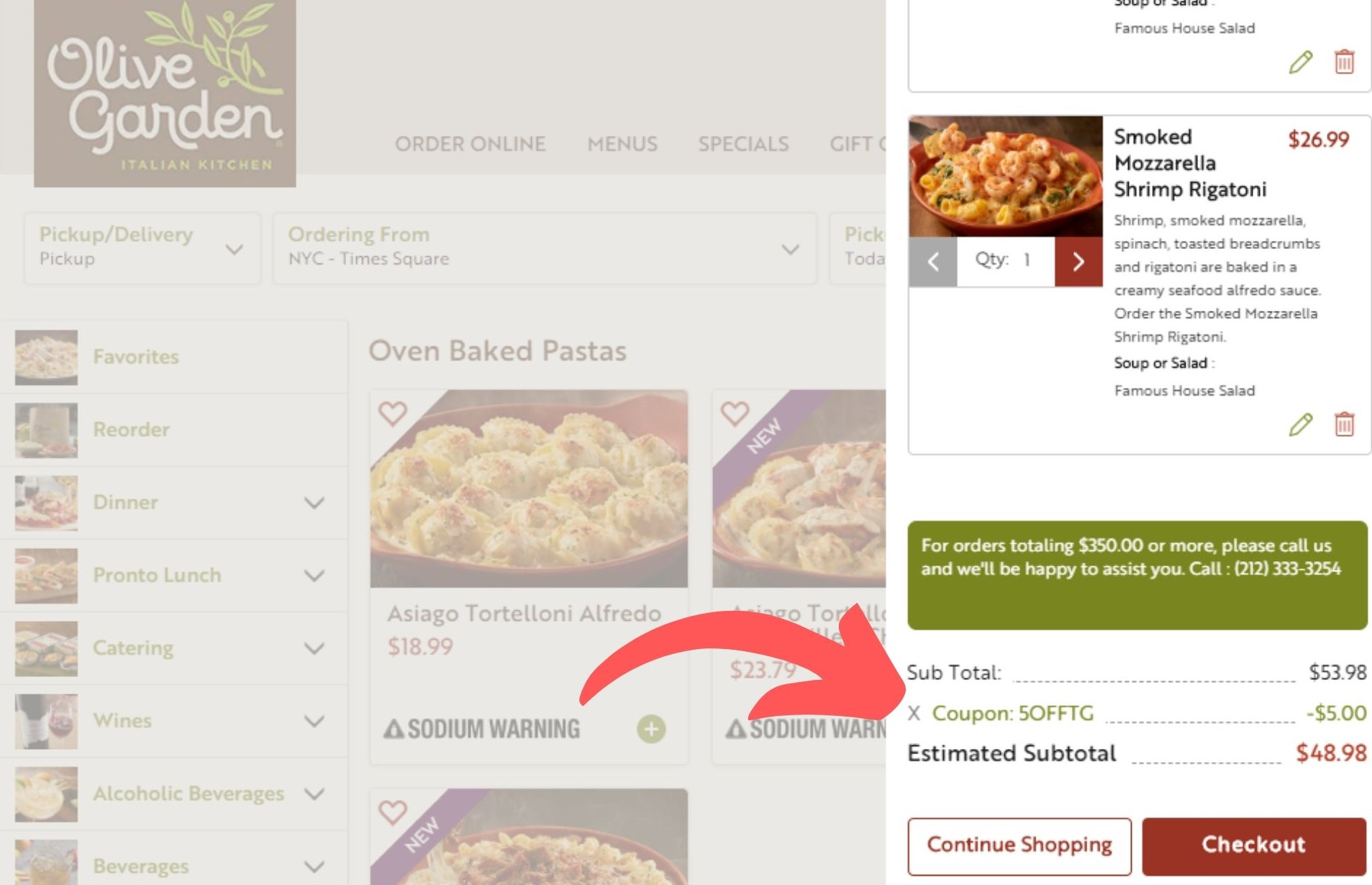 5 Off Olive Garden Coupons Coupon Codes December 2020