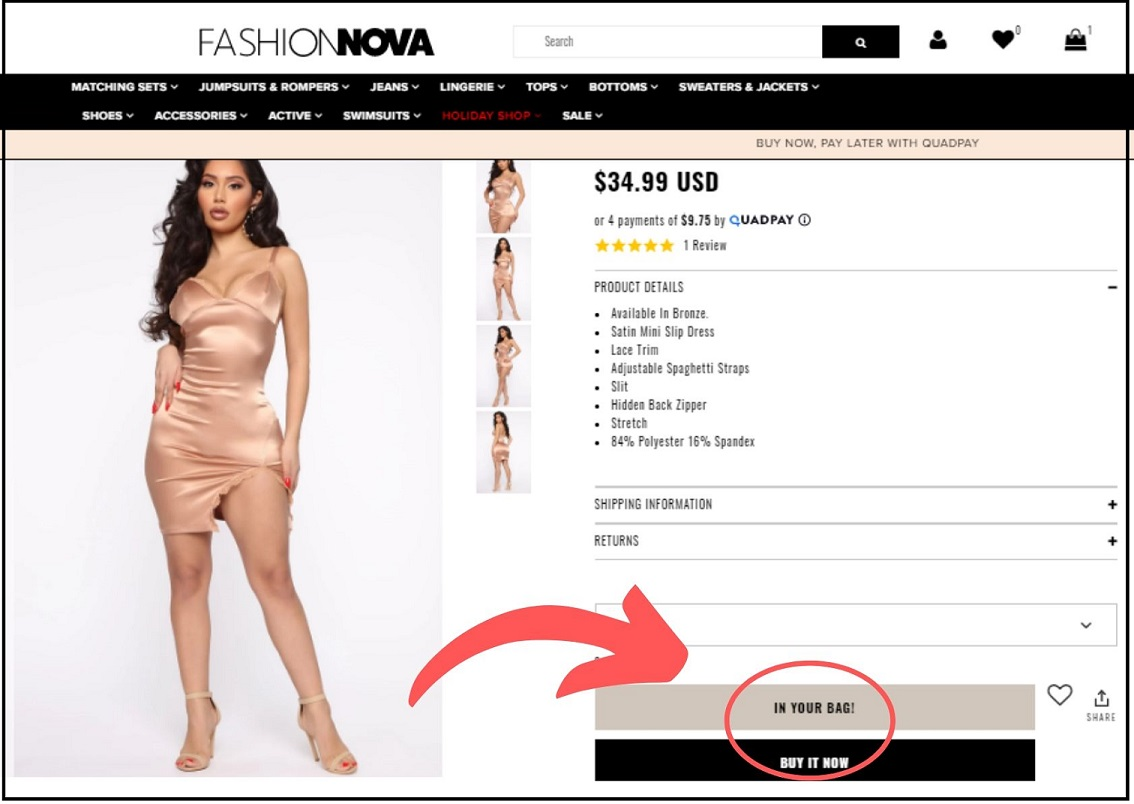 Fashion Nova Deal