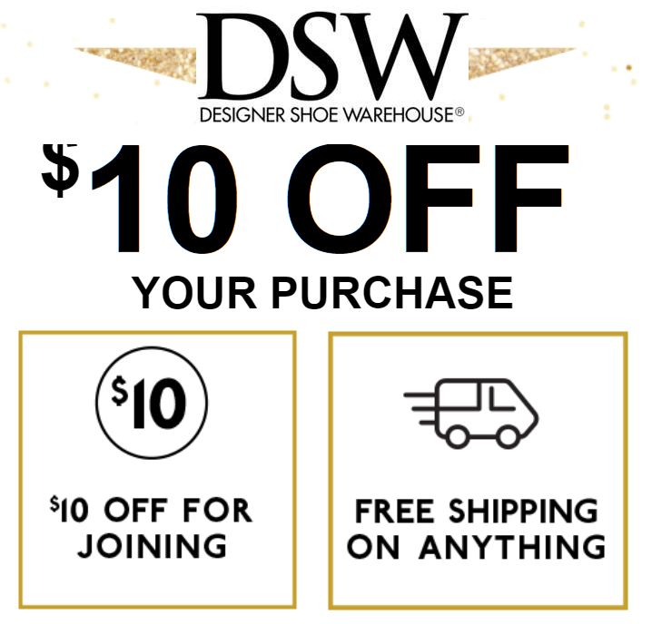 DSW email signup