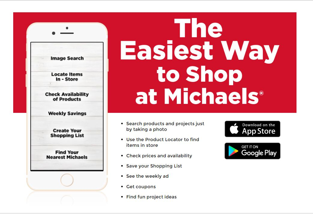 Michaels Mobile app