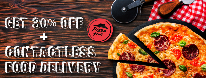 Pizza Hut Online Coupons September Special Avail 30 Off Contactless Delivery